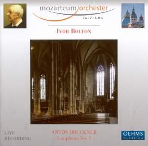Bruckner: Symphony No. 3 in D minor 'Wagner Symphony' Product Image