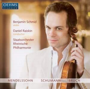 Benjamin Schmid plays Mendelssohn, Bruch & Schumann Product Image
