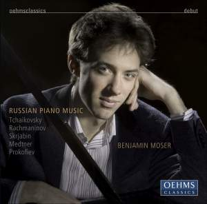 Benjamin Moser - Russian piano music