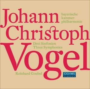 Vogel, J C: Three Symphonies
