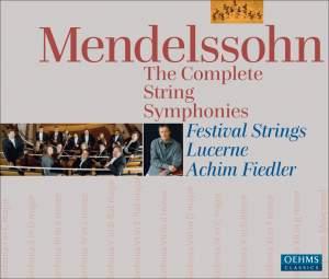 Mendelssohn: String Symphonies Nos. 1-13 (complete) Product Image