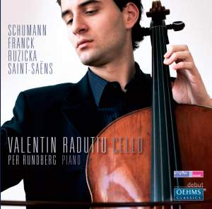 Valentin Radutiu plays Schumann, Franck, Ruzicka & Saint-Saëns Product Image