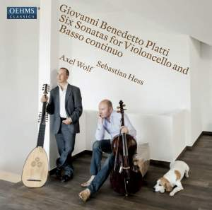 Platti: Sonatas (6) for violoncello and basso continuo