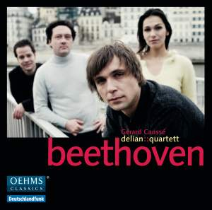 Delian Quartett play Beethoven