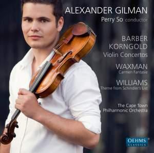 Barber & Korngold: Violin Concertos Product Image