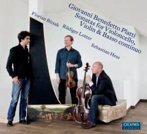 Platti: Sonatas for Violoncello, Violin & Basso continuo Product Image