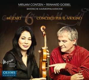 Mozart: 6 Concerti Per Il. Violino