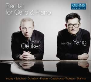 Recital for Cello & Piano Product Image