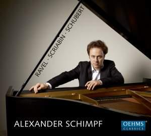 Alexander Schimpf plays Ravel, Scriabin & Schubert