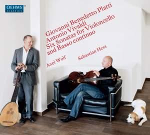 Platti & Vivaldi: Six Sonatas for Violincello & Basso continuo