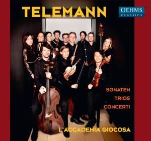 Telemann: Sonatas, Trios & Concerti Product Image