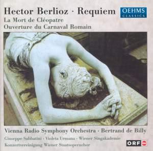 Berlioz: Requiem, Cléopâtre & Le carnaval romain Product Image