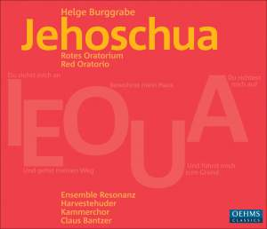 Burggrabe: Jehoschua - Red Oratorio Product Image