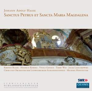 Hasse, J A: Sanctus Petrus et Sancta Maria Magdalena