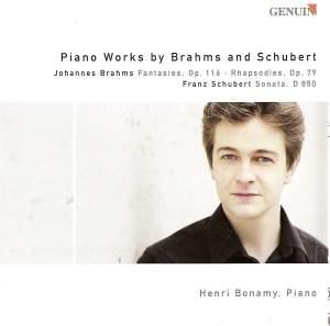 Henri Bonamy plays Brahms & Schubert