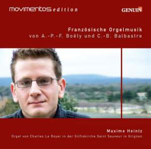 Boëly & Balbastre - French Organ Music