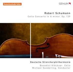 Schumann: Cello Concerto (arrangements)