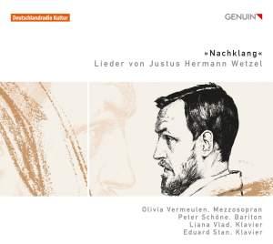Nachtlang: Lieder by Justus Hermann Wetzel