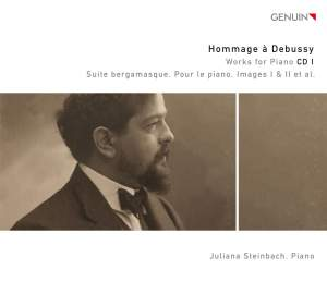 Hommage à Debussy: Works for Piano CD 1