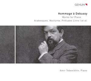 Hommage à Debussy: Works for Piano CD 2