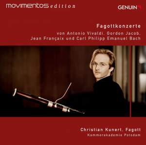 Vivaldi, Jacob, Francaix & C.P.E. Bach: Bassoon Concertos