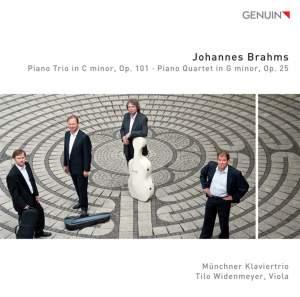 Brahms: Piano Trio in C minor, Op. 101 - Piano Quartet in G minor, Op. 25