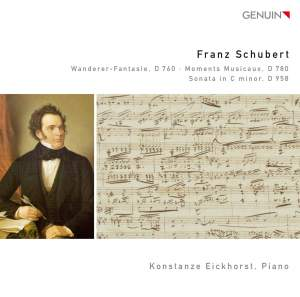 Schubert: Wanderer-Fantasie, D 760 - Moments Musicaux, D 780 - Sonata in C minor, D 958