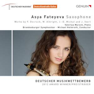 Asya Fateyeva: Saxophone Product Image