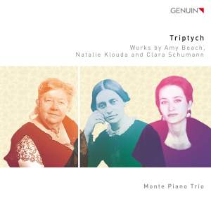 Triptych: Works by Amy Beach, Natalie Klouda and Clara Schumann Product Image