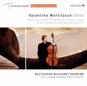Beethoven, Ysaÿe, Schumann and Britten: Works for Cello