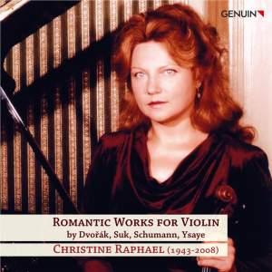 Romantic Works for Violin