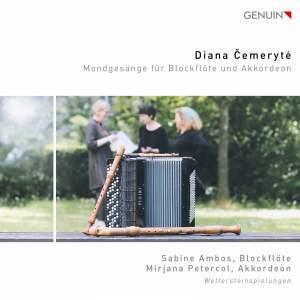 Diana Čemerytė: Mondgesänge für Blockflöte und Akkordeon