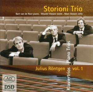 Julius Röntgen: Piano Trios Vol. 1 - Nos. 6, 9, 10