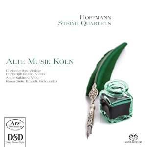 Heinrich Anton Hoffmann: String Quartets Product Image