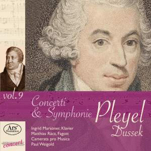 Pleyel Edition Vol. 9: Concerti & Symphonies