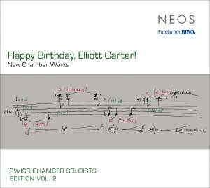 Happy Birthday, Elliott Carter!
