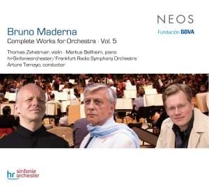 Bruno Maderna: Complete Orchestral Works Vol. 5