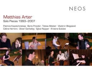 Matthias Arter: Solo Pieces 1993 - 2007