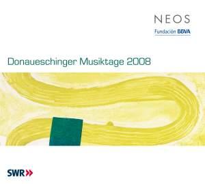 Donaueschinger Musiktage 2008, Volumes 1-3