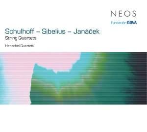 Schulhoff, Sibelius and Janacek: String Quartets