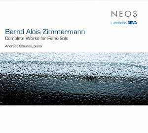 Zimmermann: Complete Works For Piano Solo