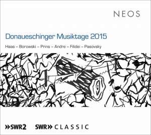 Donaueschinger Musiktage 2015