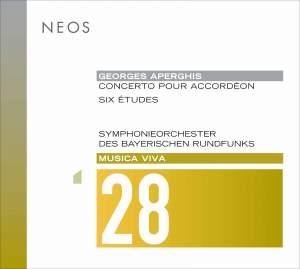 Aperghis: Concerto pour accordéon & Etudes