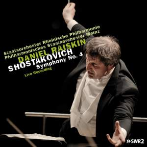Shostakovich: Symphony No. 4 in C minor, Op. 43 Product Image
