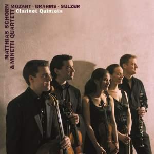 Mozart & Brahms & Sulzer: Clarinet Quintets