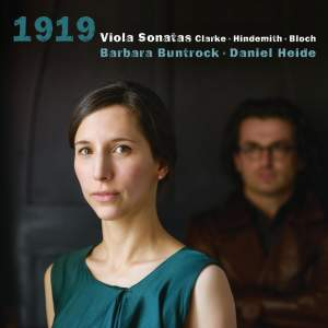 Clarke - Hindemith - Bloch: '1919 ' Product Image