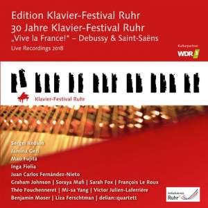 Vive la France! Debussy & Saint-Saint-Saëns (Edition Ruhr Piano Festival, Vol. 37)