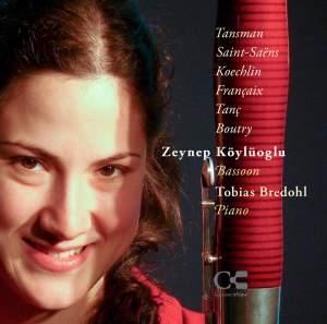 Tansman, Saint-Saëns, Koechlin, Françaix, Tanç & Boutry: Music for Bassoon and Piano