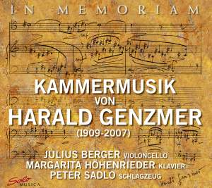 Genzmer, Harald/Julius Berger/Peter Sadlo: In Memoriam: Chamber Music of Genzmer Product Image