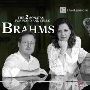 Brahms: The 2 Sonatas for Piano and Cello Product Image